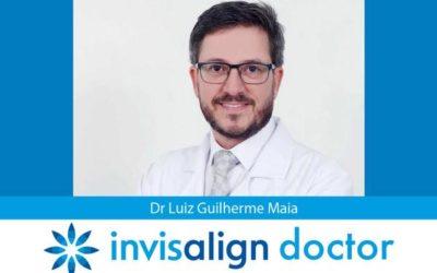 Dr Luiz Guilherme Maia é um Doutor Invisalign credenciado em Aracaju